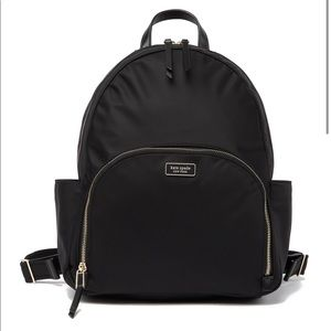 Kate Spade Large Dawn Bag Nylon Backpack Purse